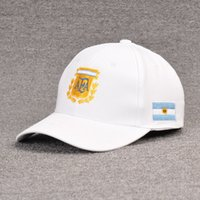 Wholesale world cup hats for sale - Group buy World Cup Football Cap Argentine caps baseball cap men s breathable hat ladies fashion net cap thin cotton quick drying sun hat T200409