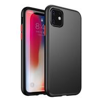 ingrosso custodie per telefoni cellulari-Per il nuovo iPhone 11 cassa del telefono Pro pulsante anti-caduta giacca protettiva di colore promax rettifica il trasporto libero