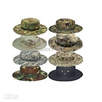 bonnie sombreros al por mayor-US Army BONNIE HATS Sombrero redondo Sun Bonnet James Super Light Sniper pesca Hat 65% poliéster 35% algodón envío gratis