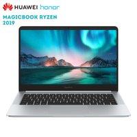 huawei hua honra venda por atacado-Original huawei honor magicbook 2019 14 polegada laptop do windows 10 dmz ryzen 5 3500U 8 GB 256 GB PCIe NVDe SSD Radeon Vega 8 PC