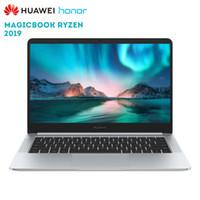 zoll-laptop-fenster großhandel-Original Huawei Honor MagicBook 2019 14 Zoll Laptop Windows 10 AMD Ryzen 5 3500U 8 GB 256 GB PCIe NVMe SSD Radeon Vega 8 PC