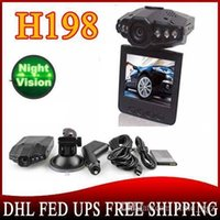 Wholesale camera h198 for sale - Group buy car dvr BY DHL OR EMS pieces Dropshipping inch TFT LCD Car Camera with degree Night Vision IR LED H198 SC189