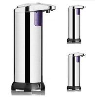 Automatic Sensor Soap Dispenser Liquid Soap Dispensers Stainless Steel Free Wash Machine Portable Motion Activated Dispenser