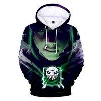 casaco de veludo xl venda por atacado-XXS-4XL mulheres / homens de Tom Clancy Imprimir Rainbow Six Siege 3D Brasão Thicken HoodiesAutumn Primavera Zipper Velvet Casual Jack