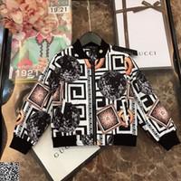 kıyafetler toptan satış-Erkek ceket çocuk spor giysi tasarımcısı sonbahar pamuk ceket aşınmaya dayanıklı ve antistatik kumaş çok eleman baskı tasarımı