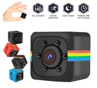 Wholesale micro mini cameras resale online - SQ11 Full HD P Night Vision Camcorder Portable Mini Micro Sport Cameras Video Recorder Cam DV Camcorder not include TF card