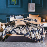 Wholesale cotton satin bedding sets for sale - Group buy 4pcs Bedding Set European Egyptian cotton bed linen Soft Satin bedding floral pastoral duvet cover pillowcases bedspreads