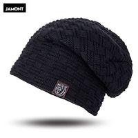 2422271c394b7 Mens Winter Hat Casual Brand Knitted Ladies Hats Beanies Stocking Hat Plus  Velvet Rasta Cap Skull Bonnet Hats For Men