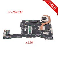 Wholesale laptop motherboards i7 for sale - Group buy NOKOTION W3386 Laptop Motherboard for Lenovo ThinkPad x220 i7 M GHz Main board HD full tested