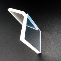 New High precision130*130*7mm square H-K9L optical glass lens 45 degree reflective mirror 532nm reflect coating