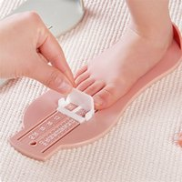 Wholesale Kid Foot Measure Tools Gauge Shoes Size Measuring Ruler Baby Child Shoe Toddler Infant Shoes Fittings Gauge