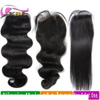 Wholesale buy virgin brazilian hair for sale - Group buy Human Hair Closure Virgin Brazilian Human Hair Top Lace Closure Buy Two Get One Free By XBL