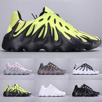 самые крутые новые мужские туфли оптовых-2019 Новый выпуск 451 Kanye 3M Volcano Wave Runner Мужская дизайнерская обувь Мужские спортивные кроссовки 700-х годов Классные модные кроссовки размера 7-11