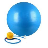 ingrosso esercizi palla palla-All'ingrosso-55cm palestra esercizio allenamento Yoga dimagrante equilibrio Pilates Balls anti-scoppio e antiscivolo Fitness Sport Ball con pompa