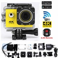 Wholesale pro dv camera for sale - Ultra K MP FHD DV Cam Waterproof Sports Action Camera Camcorder like Go Pro