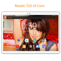 Wholesale kids mid tablet pc for sale - Group buy T10 inch Android OS G LTE tablet pc Deca Core GB RAM GB ROM IPS Kids Gift MID Tablets