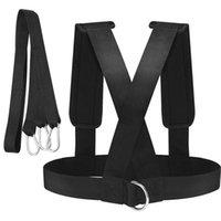 ausübung elastischen gurt großhandel-Gewicht tragen Widerstand Bands Schultergurt Stärke Durable Expander Sport Fitness Elastic Speed Exercise Loop Training