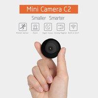 clip mini hd kamera großhandel-Wifi P2P Mini-Kamera HD 1080p tragbare IP-Kamera Bewegungssensor Fahrrad Körper Micro Mini DV DVR Magnetclip-Sprachkamera