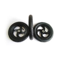 Wholesale 22mm round resale online - 1pcs Electrical Skateboard Off road Inflatable Round Wheels mm Wheels mm Bearings