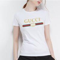 chemises décontractées pour hommes achat en gros de-Top Quality Cotton Brand lettre Imprimer funny hommes t-shirt décontracté à manches courtes Haute Qualité femmes mens T-shirt Mode cool T-shirt S-5XL