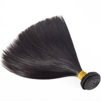 Wholesale real indian weave for sale - Group buy VMAE Unprocessed Indian to Inch Remy Virgin Straight Weave Bundles A Weft Real Human Hair Extensions