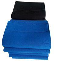 soporte de cintura azul al por mayor-2017 Hombres Mujeres Cintura Trimmer Respaldo Cinturón Brace Gimnasio Guardia Postura Alivio para el dolor Soporte de cintura Negro / Azul j2