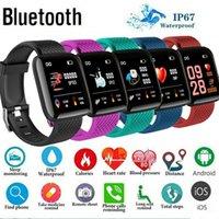 venta de relojes inteligentes al por mayor-Más nueva manera inteligente Bluetooth del reloj del ritmo cardíaco de la presión arterial de oxígeno aptitud del deporte del perseguidor pulseras de la venta caliente