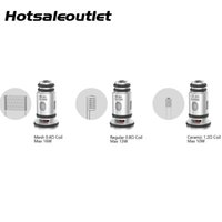 Wholesale spas 12 resale online - 510Vape SPAS Replacement Coils Mesh ohm Coil Regular ohm Dual Coil Ceramic ohm Coil for SPAS Pod Original