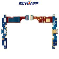 connecteur plat achat en gros de-Câble plat pour LG E975 Optimus G connecteur de charge Flex Ribbon Flexible Câble plat Livraison gratuite