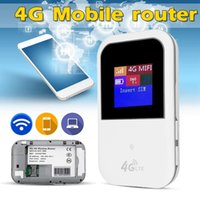 Wholesale wireless internet for sale - Group buy 4G Mobile Unicom Telecom Router Wireless Internet Card Carry On Auto WiFi Wireless Router