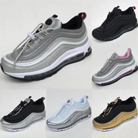 Wholesale red children shoes breathable for sale - Group buy AirCushion s Leather and Mesh Children Breathable Outdoor Sneakers OG TPU Built in Air Kids Outdoors Cushioning Athletic Shoe Eur