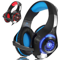 Wholesale games gamers for sale - Group buy New Beexcellent GM Gaming Headphone with Mic LED Light Stereo Game Headset MM Wired USB Headband Headphones For PC PS4 Gamers