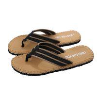 высокие шлепанцы для пляжа оптовых-Summer Beach Slippers Men Flip Flops High Quality Beach Sandals Non-slide Male Slippers Zapatos Hombre Casual Shoe Nov23
