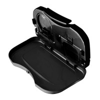 Wholesale car travel tray resale online - Car Tray Car Stand Rear Seat Beverage Rack Water Drink Holder Bottle Travel Mount Accessory Foldable Meal Cup Desk Table