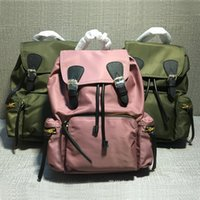Wholesale canvas backpack military for sale - Group buy Glitzy2019 Both Military Canvas Shoulders Take Bring Package Cover Nylon Parachute Waterproof Cloth Travelling Bag Backpack