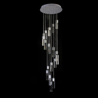 Wholesale long chandeliers for stairs for sale - Group buy Spiral Crystal Chandelier For Stair Modern Living Room LED Crystal Light Long Hotel Hall Lustres Cristal Lamps