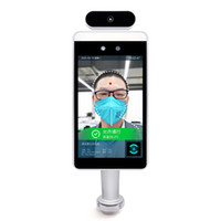 Face Recognition Infrared Thermometer Temperature Measurement System Non-Contact Digital Screen for Entrance of Office Building, Supermarket