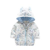 tranchée blazers achat en gros de-Vêtements pour enfants vêtements pour enfants veste mignon trench filles blazers