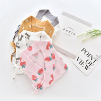 Wholesale spring angle for sale - Group buy Baby summer suit Japanese suit and Jumpsuit Japanese Hayi flat angle cotton short sleeved crawling clothes baby clothes