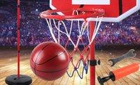 plastik aufblasbare karikaturen großhandel-Der Basketballständer der Kinder kann Innenschießenrahmenbabyball-Jungenballspielzeug anheben