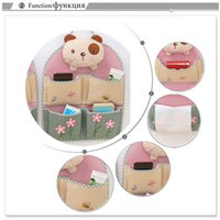 Wholesale wall beds more for sale - D Bran Bear Multilayer Cloth Storage Hanging Bag Door Hanging Bag Sundries Organizer More Save Space And Beauty Home