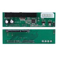 sata sürücü ide toptan satış-Paralel ATA Pata IDE Sata Seri ATA Sabit Disk Adaptörü Dönüştürücü PC ve Mac için 15