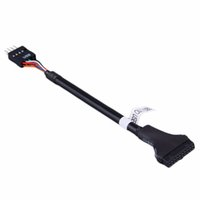 Wholesale usb extension cable motherboard resale online - 1 pc USB Pin Female to USB Pin Mainboard Motherboard Male Housing Cable Adapter Extension Cable