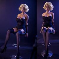 mannequin erwachsenen shop großhandel-Adult Sex Shop japanische echte Sexpuppe Lebensgroße realistische Silikongeschlechtspuppen weiche Pussy lebensechte Liebespuppe aufblasbare sexy Spielzeug für Männer