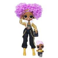 Wholesale diy toys resale online - LOL Winter Disco K D j Fashion Doll Sister Girls Toys Y200428