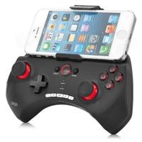 support de joystick bluetooth achat en gros de-iPega Sans Fil Bluetooth Gamepad Contrôleur de Jeu Titulaire Réglable Joystick pour iOS iPhone iPad pour Xiaomi PG 9025 Livraison Gratuite BA