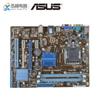 Wholesale socket asus resale online - Asus P5G41T M LX3 Plus Desktop Motherboard G41 Socket LGA DDR3 G SATA2 USB2 uATX