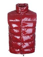 ingrosso vestito classico degli uomini-Gilet da uomo Classic Brand Uomo Inverno Warm Down Vest Feather Dress Giacche Uomo Outdoor impermeabile Giubbotti Giubbotto Coat Man Jacket