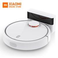 limpador de controle remoto venda por atacado-Global Versão Xiaomi Mi robô aspirador de pó para Início automático Varrendo Esterilizar poeira inteligente Planned Mobile App controle remoto
