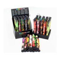 tek kullanımlık el fıçı bıçağı toptan satış-Yüksek Kaliteli E ShiSha Nargile Kalem Tek Kullanımlık Elektronik sigara Çığ Sopa Shisha Zaman 500 Puflar Renkli 35 Tatlar Ücretsiz DHL